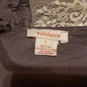 Sundance Tops - V neck silk top